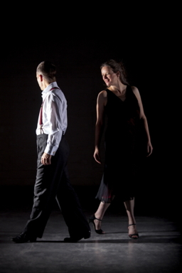 Glasgow Tango tutors Alistair and Shona dancing 4