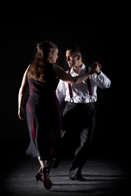 Glasgow Tango tutors Alistair and Shona Tango 1