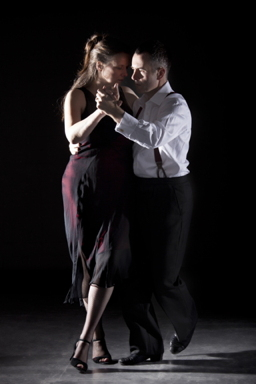 Glasgow Tango tutors Alistair and Shona Tango 2
